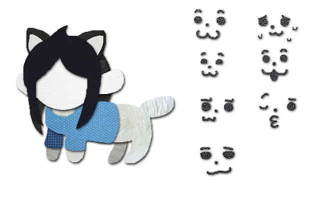 Undertale dog png. Make your own temmie