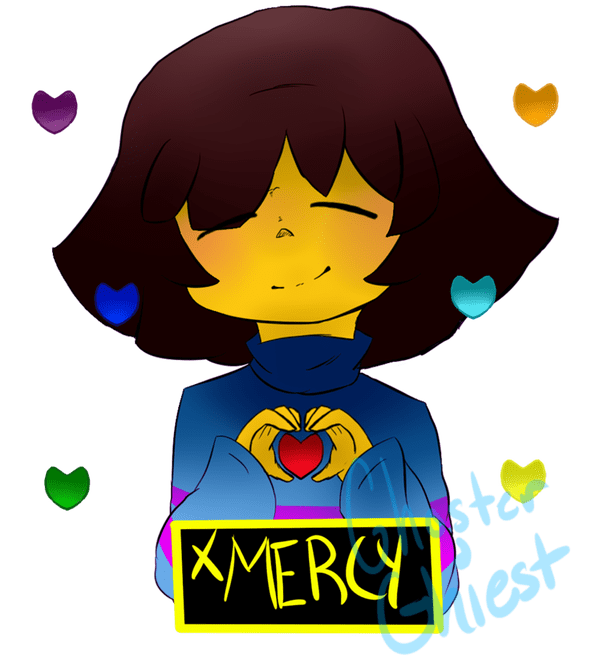 Undertale fanart of all characters png. Soul love pictures