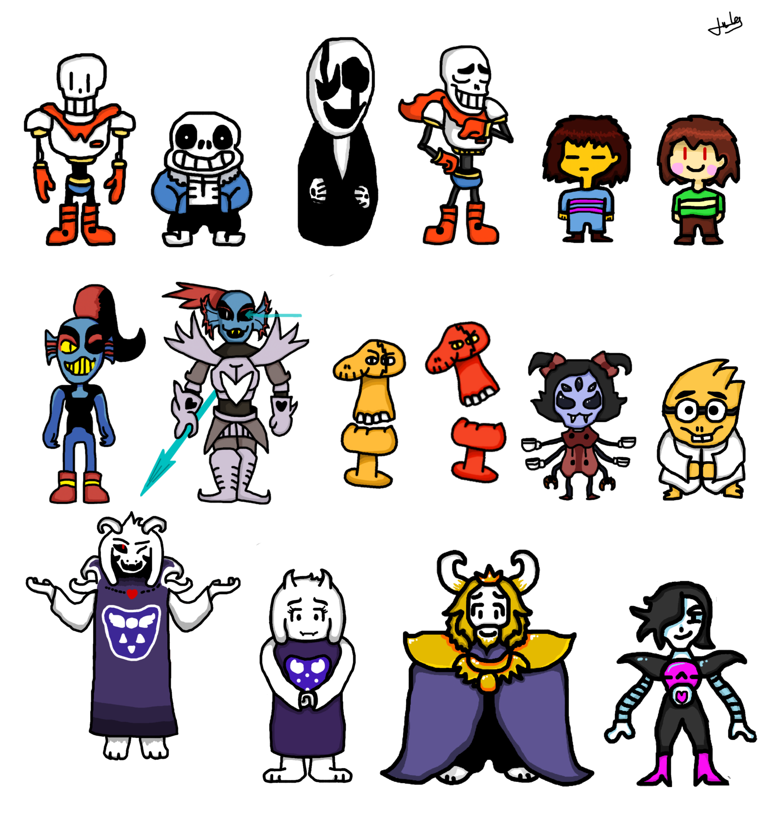 Character transparent undertale. Structure fan art game