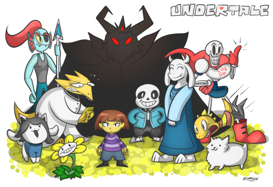 Undertale fanart of all characters png. Some the cast know