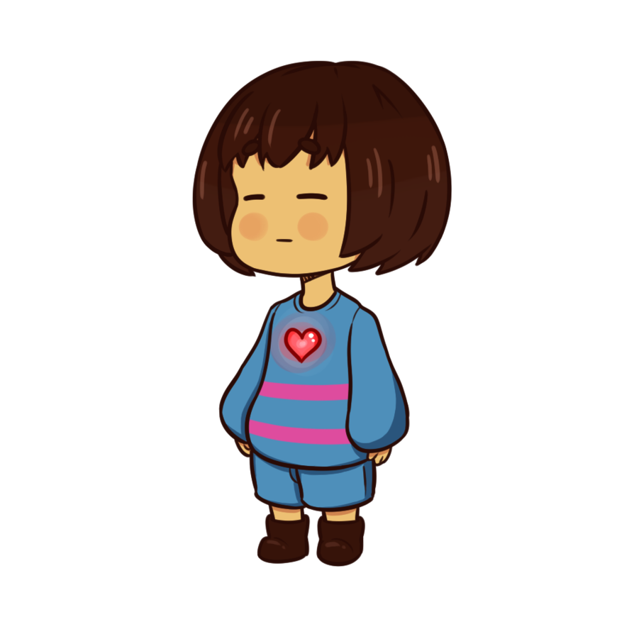 Undertale frisk png. Image by charliesgallery d