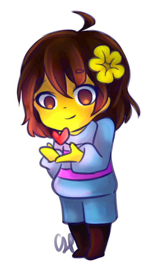 Undertale frisk png. By cairolingh on deviantart