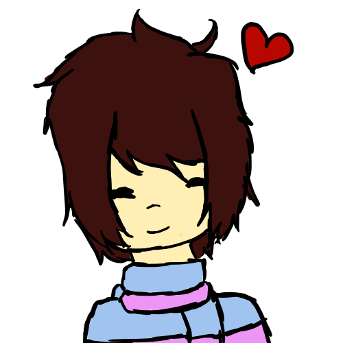 Undertale icon png. Frisk ish by thenerdydemon