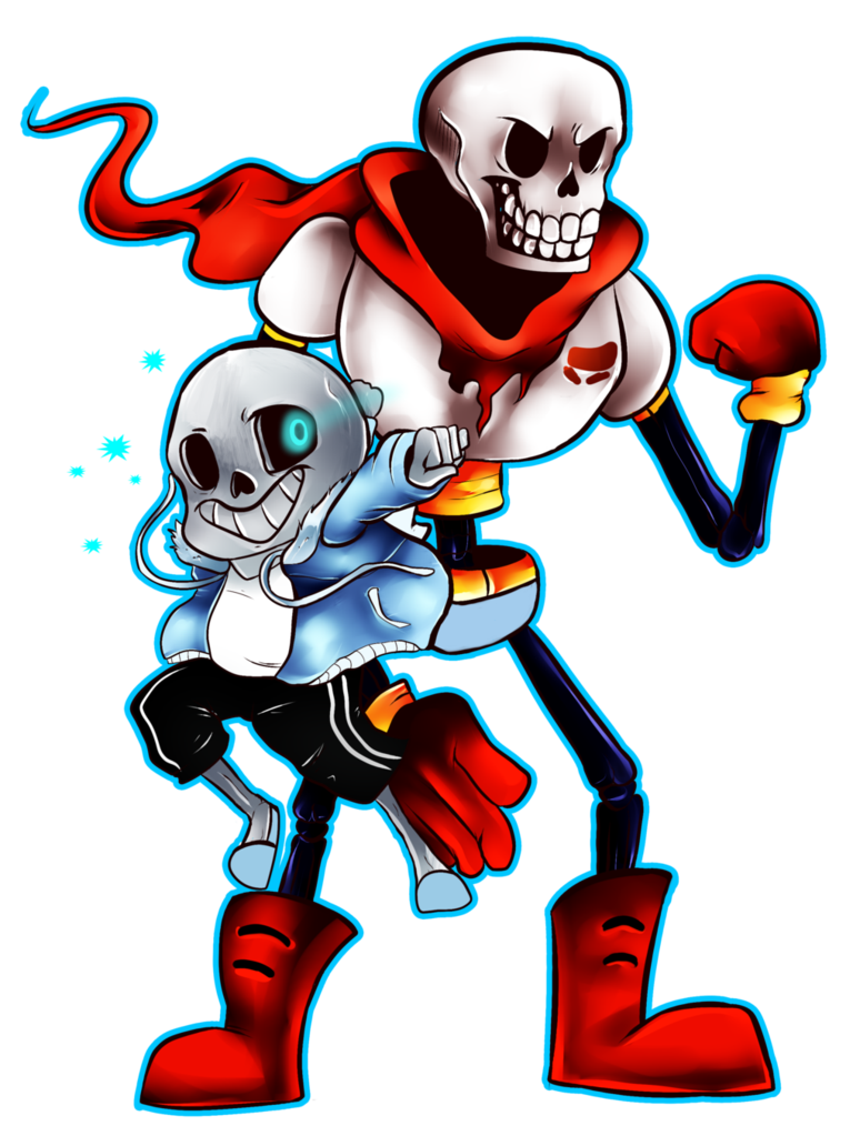 Undertale papyrus png. Sans and by acidiic