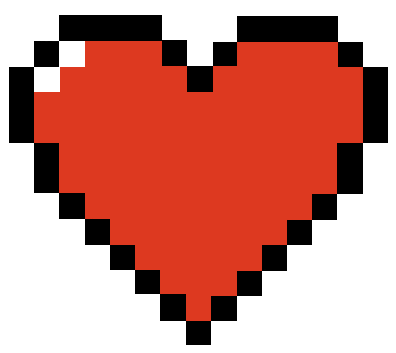 Undertale pixel heart png. Do you think im