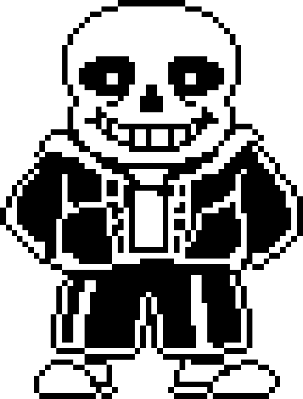 Undertale sans face png. Transparent stickpng