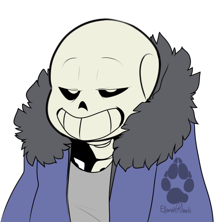 Undertale sans head png. Just being by potatobug