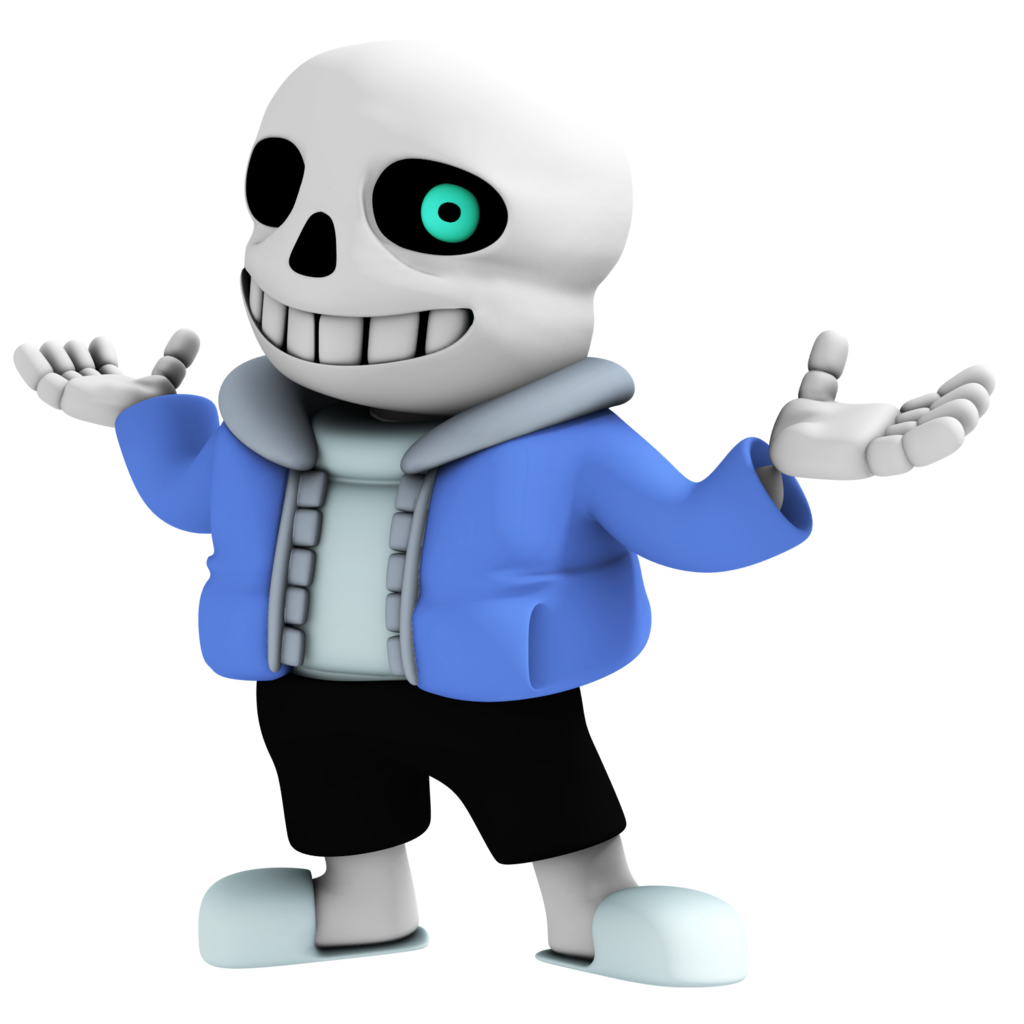 Undertale sans png. Image from render by
