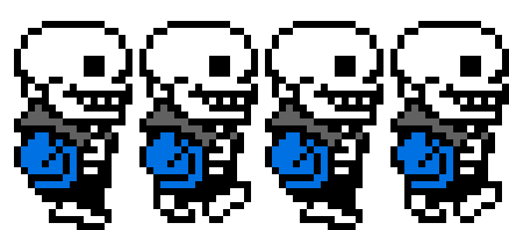 Undertale Sans Sprite Transparent Png Clipart Free Download Ya