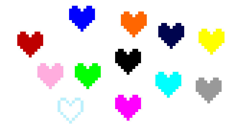 Undertale souls png. Fan made i know