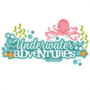 Adventures title miss kate. Underwater clipart jpg library download
