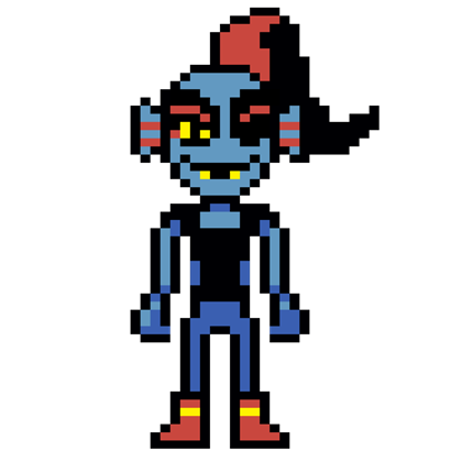 Undyne sprite png. Roblox