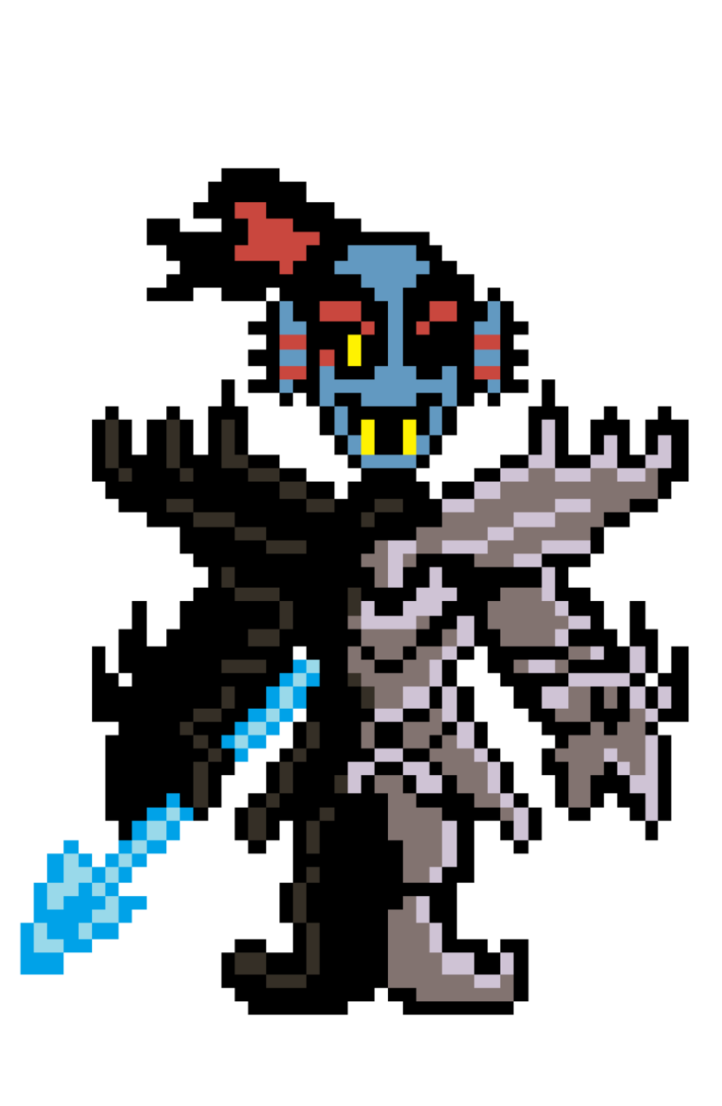 Undyne sprite png. The undying fanmade by