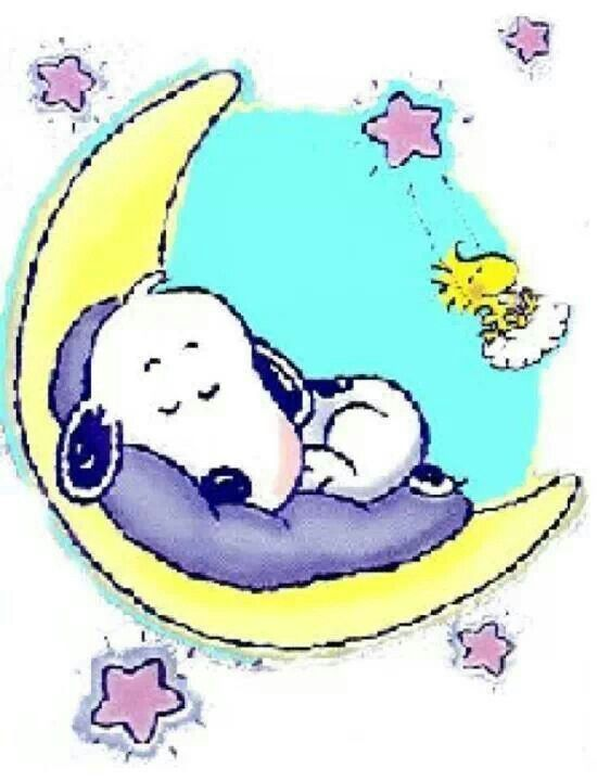 UniA?me. Good night snoopy clipart