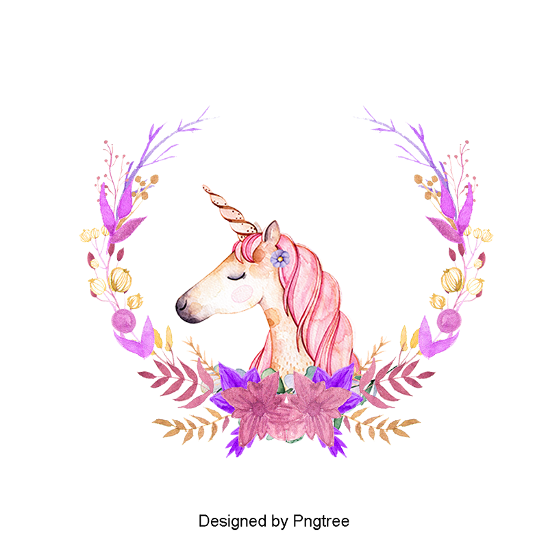 Images vectors and psd. Unicorn png stock