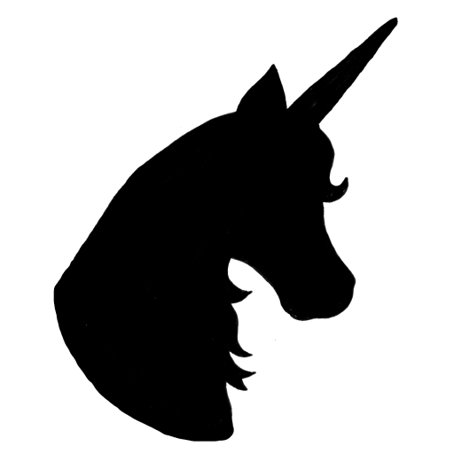 Unicorn vector png. Silhouette head at getdrawings