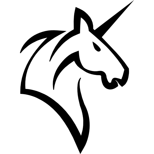 Svg unicorn head free. Horse with a horn