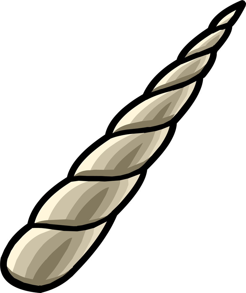 Unicorn horn clipart real png. Wand of the broken