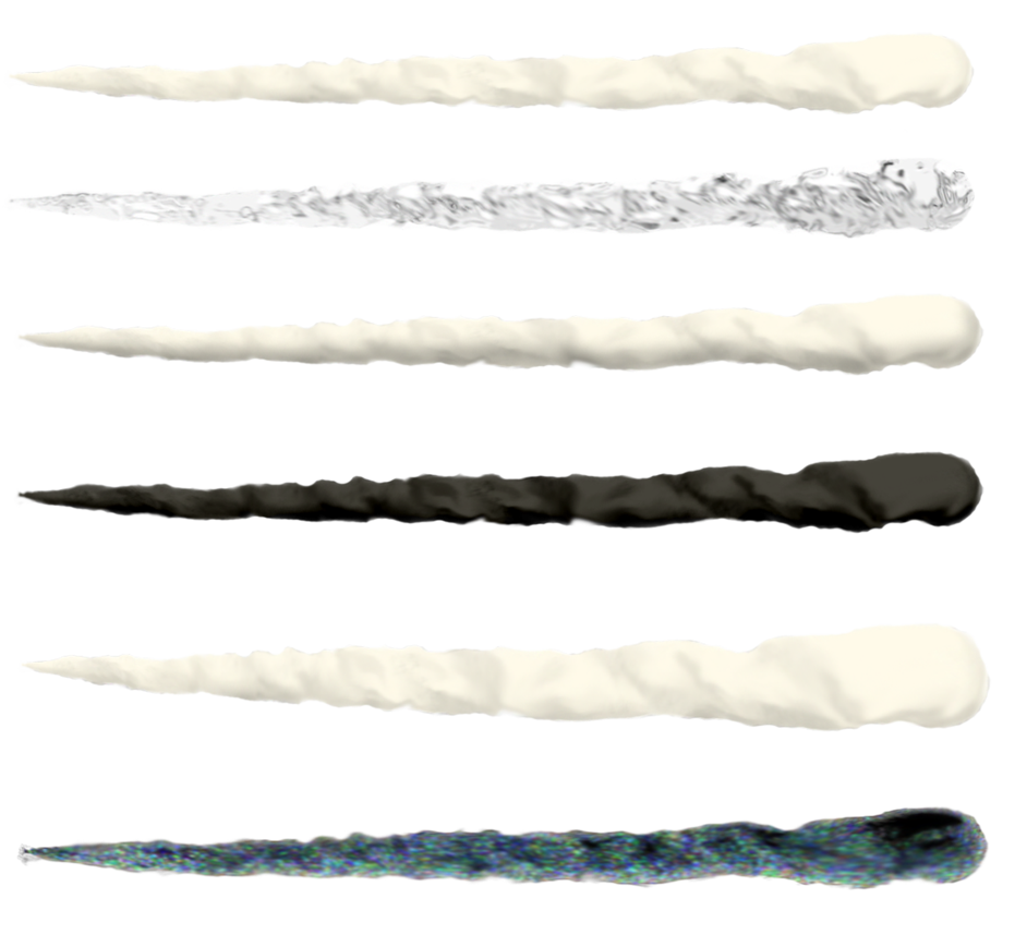 Unicorn horn png realistic. Set by markopolio stock