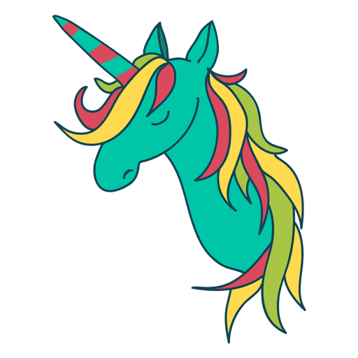 Unicorn vector png. Fantasy animal illustration transparent