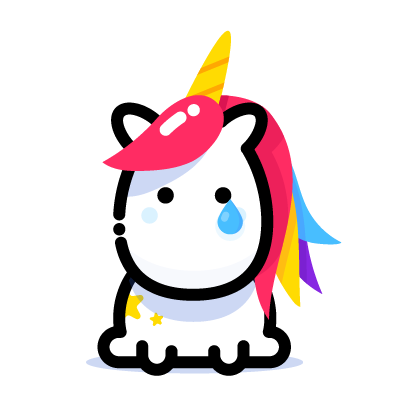 Unicorn sticker png. Lily stickers by elvis