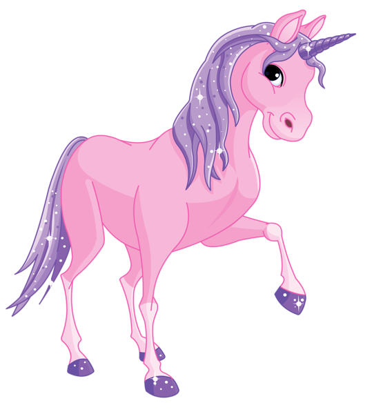 Unicorn transparent png. Pink pony clipart picture