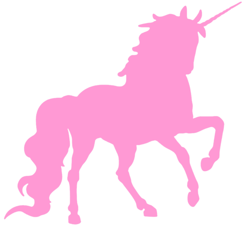 Unicorn vector png. Fantasy and magic ponies