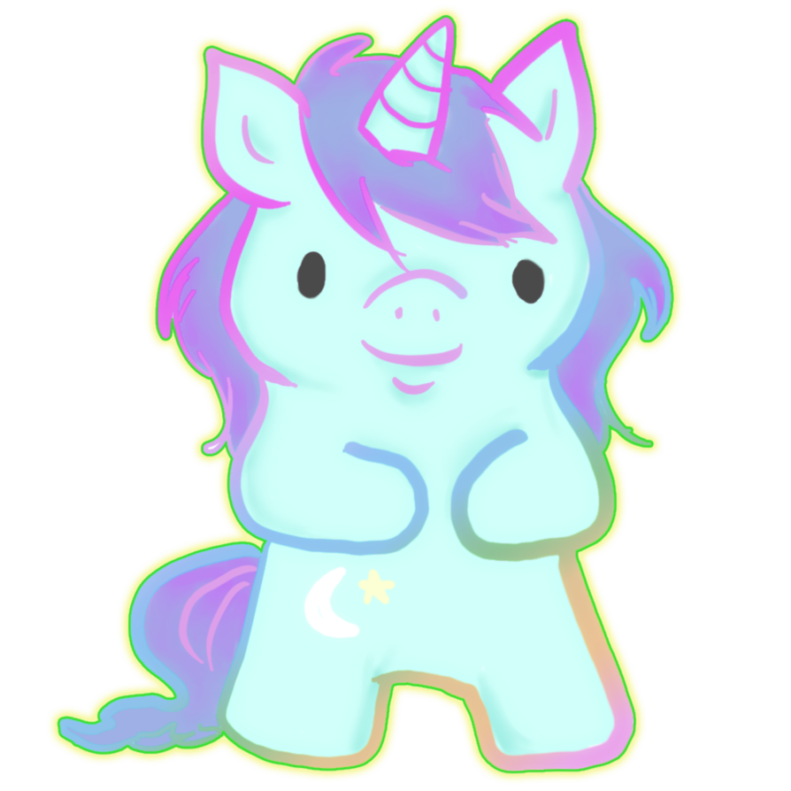 nicorn png girly