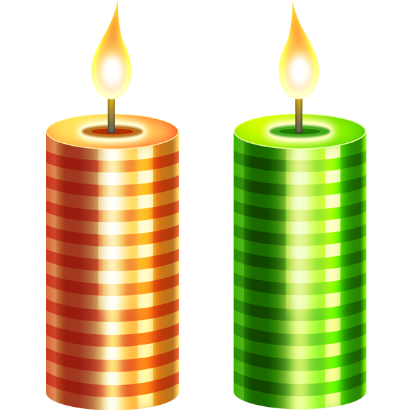Unique birthday candles png. Christmas candle s image