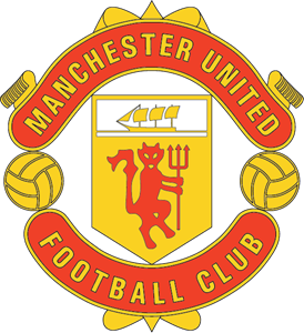 United drawing logo manchester. Fc vector cdr free