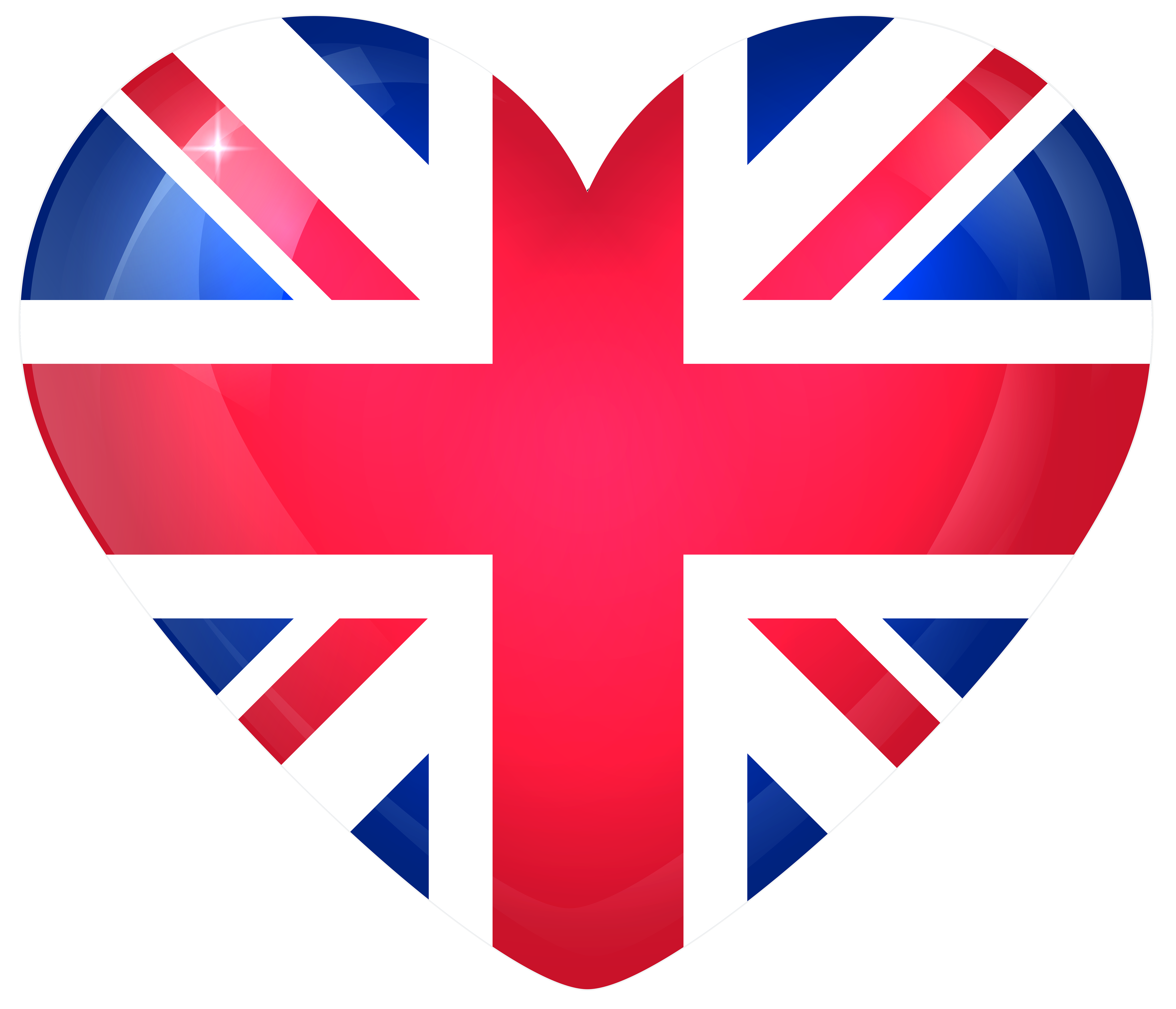 United kingdom flag png. Large heart gallery yopriceville