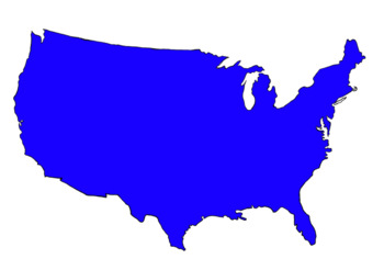 United states clipart. By lafountaine of knowledge