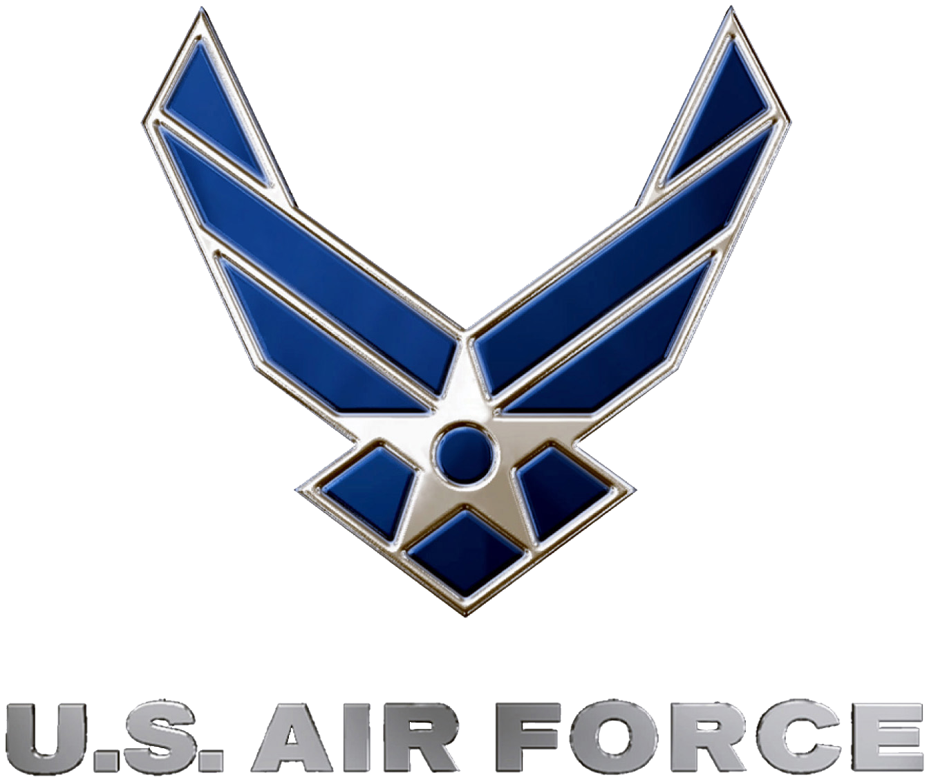 United states clipart air force. Symbol wikipedia us blue