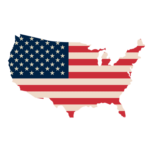 United states of america flag png. Usa print map transparent