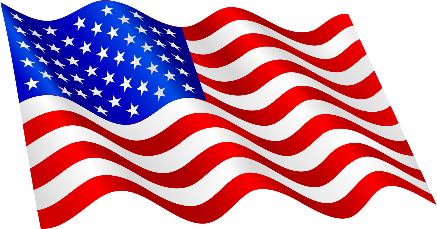 American flag png file. United states of america clip black and white download