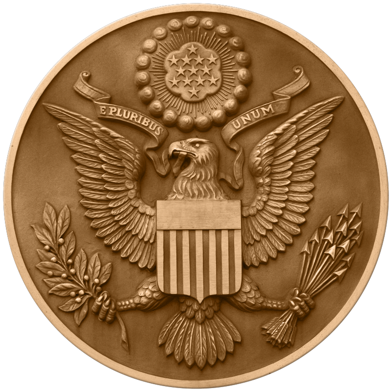 United states seal png. The obverse side of
