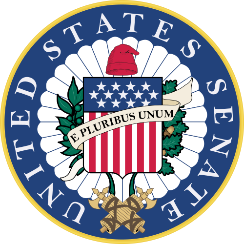 United states seal png. Of the senate
