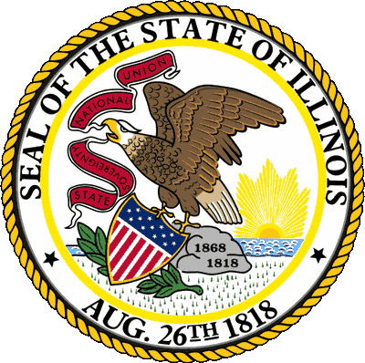 United states seal png. Illinois state great of