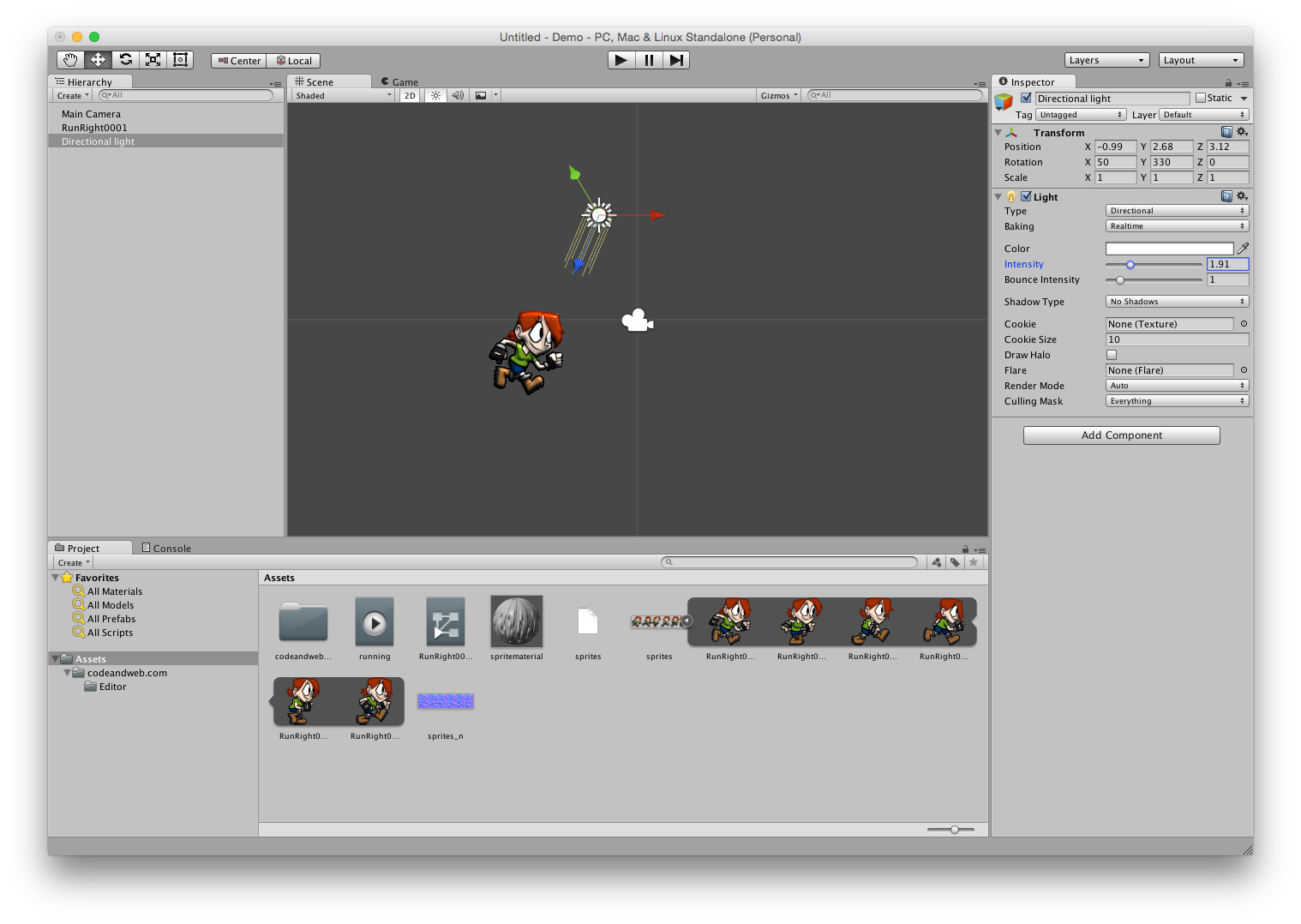 Unity 5 how to make a sprite from png. D dynamic lighting