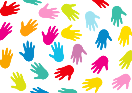 Unity clipart raised hand. Let s talk about