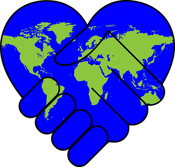 Unity clipart raised hand. Interconnectedness and the women