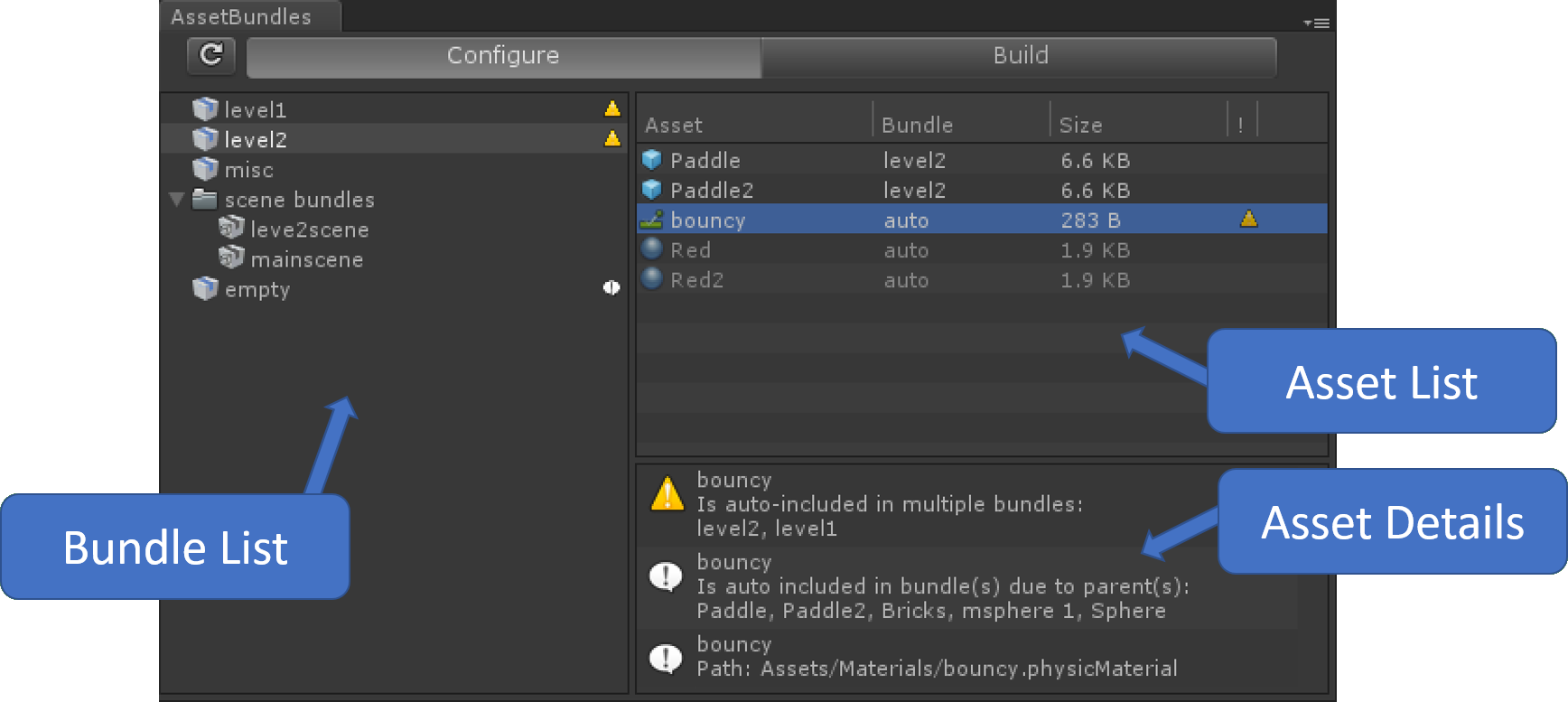Unity convert png to sprite. Asset bundle browser initial
