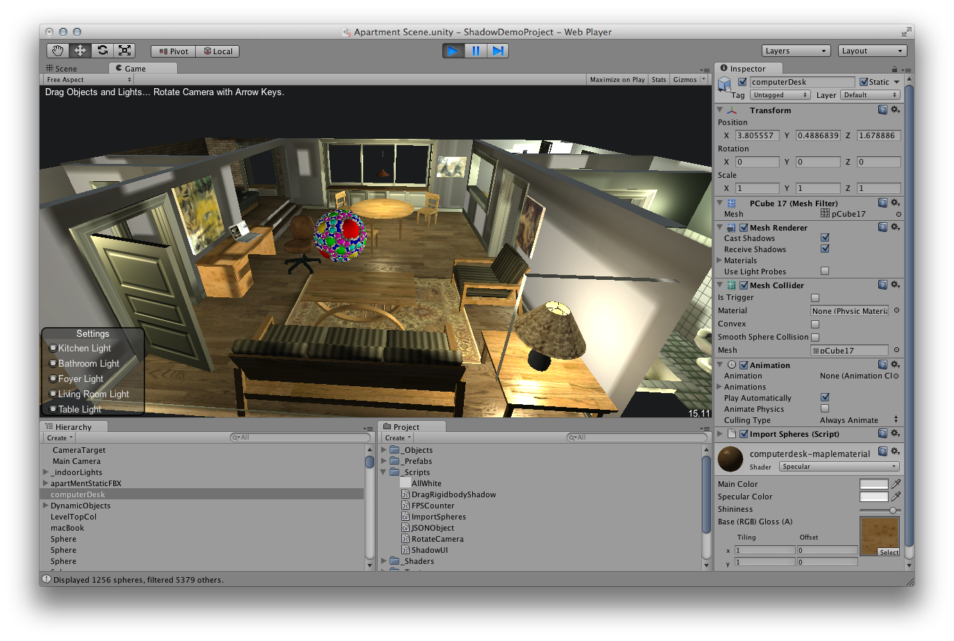 Rotate & Resize Tool: unity transparent 3d modeling