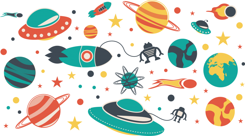 Universe clipart universe background. Download space flat material