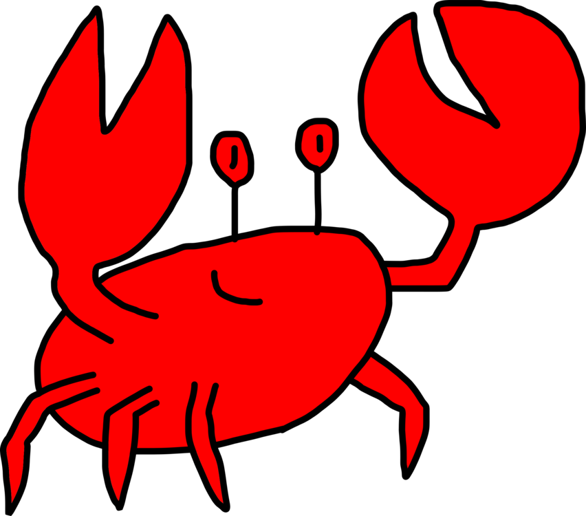 Crab clipart red crab. Fisheries decapoda christmas island