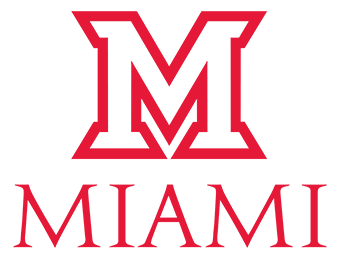 Vector ohio red. Logos the miami brand