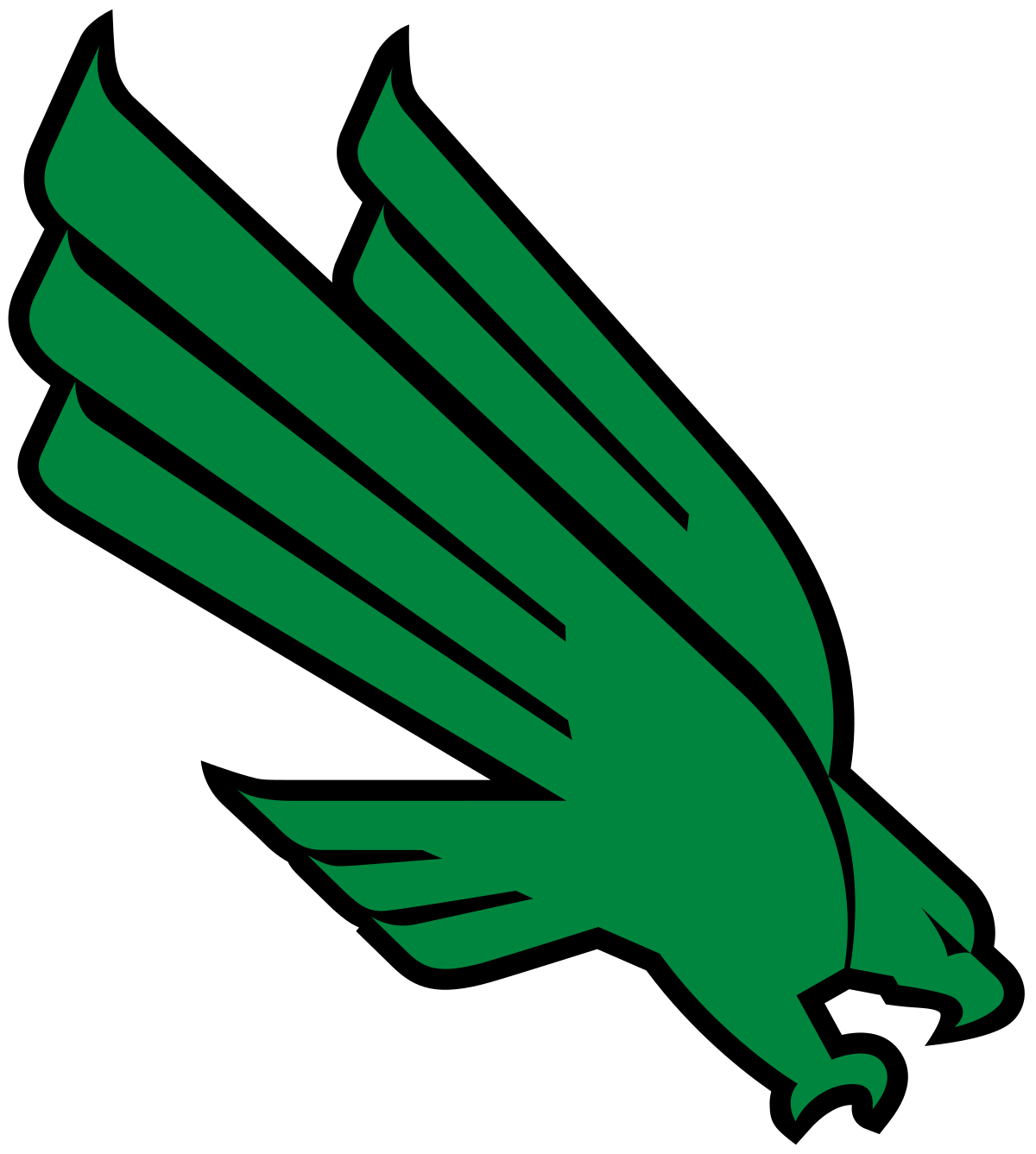 University of north texas logo png. Mean green wikipedia