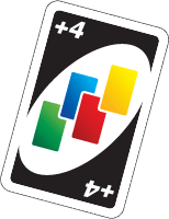 Uno draw 4 card png. Daily news virtual popstar