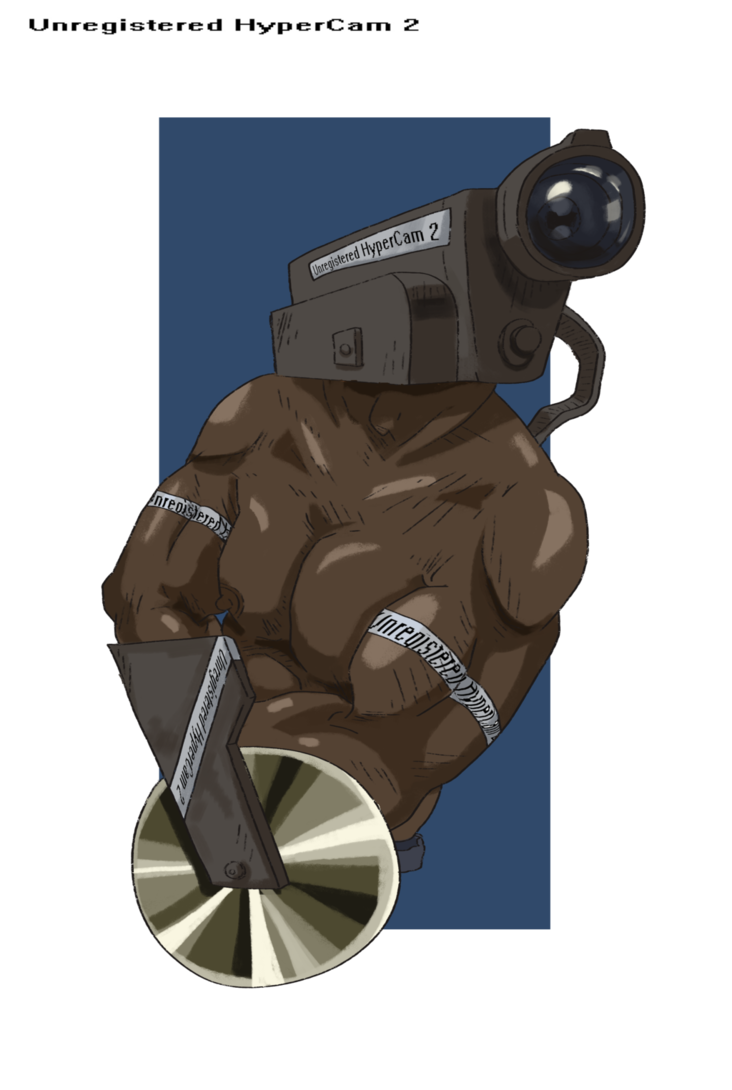 Unregistered hypercam 2 png. By facefullofgarbage on deviantart