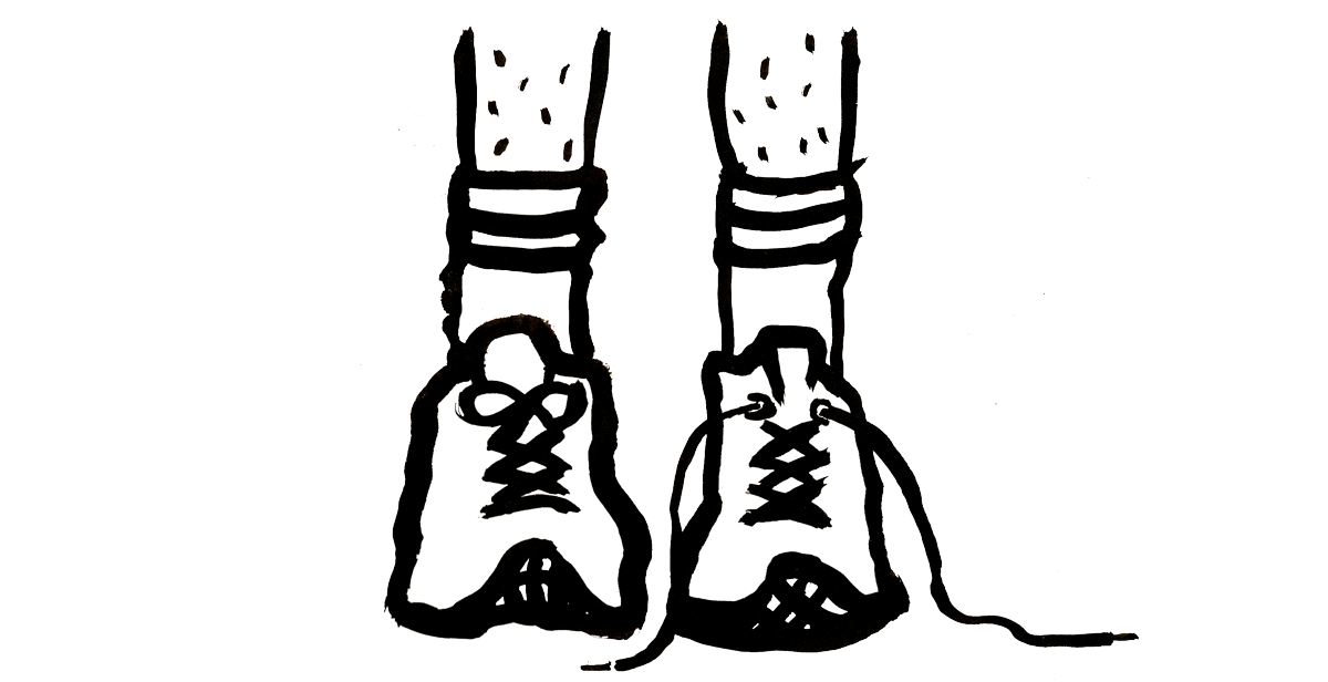 Untied shoe png. Collection of drawing